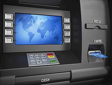 Guichet automatique de banque